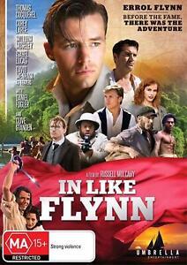 IN LIKE FLYNN (2018) Region 4 [DVD] Thomas Cocquerel Corey Large Errol Flynn