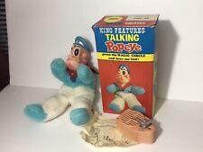 Vintage Gund Popeye Talking Doll Japan King Features Mint W Box 1960s 49013 Rare