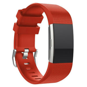 Premium Soft Replacement Strap Band for Fitbit Charge 2 Secure Buckle Wristband