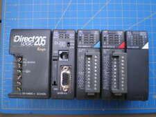 AUTOMATION DIRECT 205 PLC COMPLETE DL250 CPU D2-16ND3-2  D2-16TD1-2  D2-08CDR