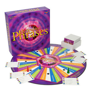 Articulate Phrases Board Game NEW