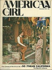 VINTAGE  GIRL SCOUT - 1970 AMERICAN GIRL - DECEMBER - FREE SHIPPING