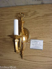 Candel Stick Wall Sconce Light Fixture Metal 120v WB4111-20 Wilshire