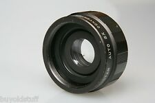 Pentax Screw Mount Auto 2X Tele Converter LISTAR Clean JAPAN