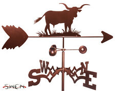 Hand Made Long Horn Steer Cow Bull Weathervane *NEW*