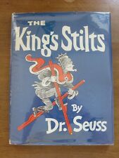 KING OF STILTS by Dr. Seuss  - HCDJ 1939 - 1st/early - yellow boards - 295/295 -