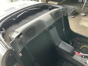Rover MG TF MGF BLACK Speaker Sound Bar, Cover And Plug