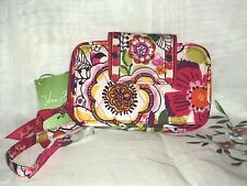 Vera Bradley Clementine Smartphone Wristlet Cotton Multi-Color Floral $43
