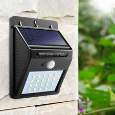 Spot solaire pour extérieur LED détecteur de mouvement pour jardin neuf pas cher