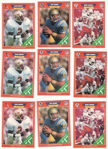 (3) 1989 Pro Set Series 2 Sets Troy Aikman Barry Sanders Deion rookie cards