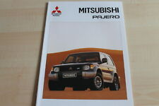 109428) Mitsubishi Pajero Prospekt 09/1992