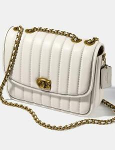 NWT Coach Women's Madison 16 Quilted Leather Shoulder Bag 4870