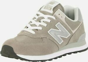 New Balance Men's 574 Suede Trainers, Grey