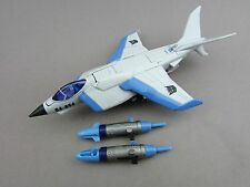 Transformers Hunt for the Decepticons Jetblade Complete Deluxe HFTD Plane Hasbro