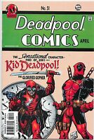 Deadpool #51 Marvel Comics Detective Comics 38 Homage NM