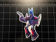 Transformers G1 Cyclonus box art vinyl decal sticker Decepticon 80s 1980s