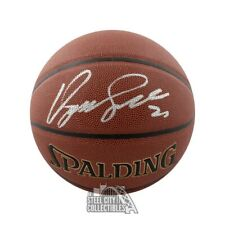 Dominique Wilkins Autographed Spalding Basketball - JSA COA