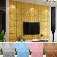 70*70cm 3D Wallpaper Brick Wall Sticker Panel Soft PE Foam Wall Cover Home Decor