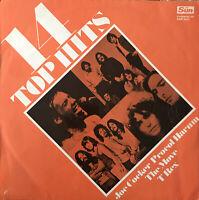 14 TOP HITS UK THE SUN PRESENTING THE N.O.W LABEL 60's & 70's LP Album Vinyl