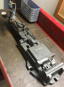 """6"""" Heinrich Pneumatic AIr Vise For CNC Mill HAAS Bridgeport Fabrication Welding"""