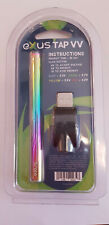 Exxus Tap VV Auto Draw Cartridge Vaporizer Battery and Charger Full Colour