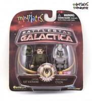 Battlestar Galactica Minimates Captain Kat Katraine & Heavy Assault Cylon
