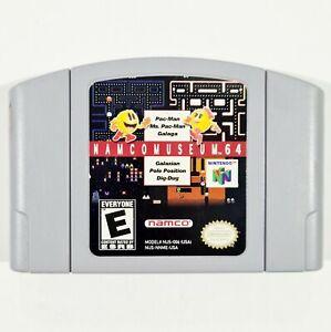 Nintendo 64 NAMCO MUSEUM us Arcade/Pac-Man/Galaga/Galaxian/Pole Position/Dig Dug