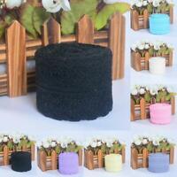 10 Yard Beautiful Bilateral Handicrafts Ribbon Embroidered Net Lace Trim DIY new