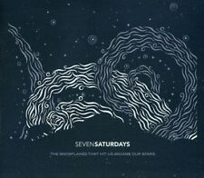Seven Saturdays cd The Snowflakes That Hit Us Became Our Stars 2010 Digipak 7tk