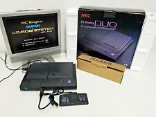 NEC PC Engine Duo Set Boxed JUNK Japan - Import