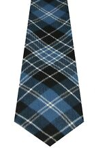 CLARK ANCIENT TARTAN  PURE WOOL TARTAN TIE by LOCHCARRON of SCOTLAND