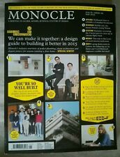 Monocle Issue 83, Vol 09 May 2015 Adolf Loos Mexico City Moomins Curzon Jakarta.