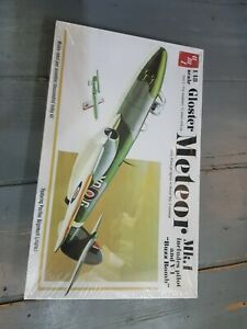 AMT new sealed plastic kit of a Gloster Meteor mk1 & buzz bomb . boxed