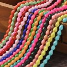 New Arrival 30pcs 8X6mm Faceted Teardrop Loose Spacer Glass Beads Mixed Color