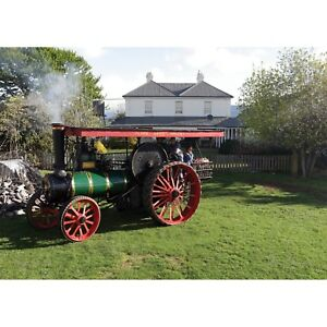 Traction engine at Clover Hill in Tasmania 1000 piece Jigsaw by John Temple