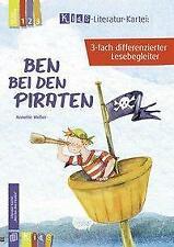 Kids Literatur-Kartei: Ben bei den Piraten 3-fach differenzierter Lesebegleiter