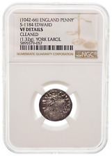 ANGLO-SAXON. Edward the Confessor, 1042-1066. Hammered Penny, NGC VF Details