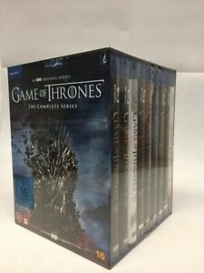 Game of Thrones Staffel 1-8 Blu-ray Box Die komplette Serie Staffel 1 bis 8 NEU