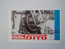 advertising Pubblicità 1974 MARMITTE SITO e GARELLI KL 50 E