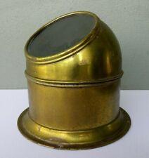 Vintage Perko Binnacle Nautical Brass Boat Compass Shroud Cover Hood