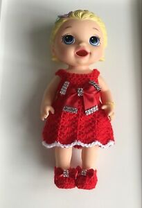 Baby Alive Doll's Dress and Shoes