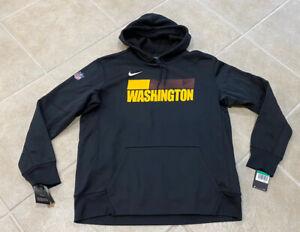 Washington Football Team Nike Therma Fit On Field Mens Black Hoodie XL In Hand