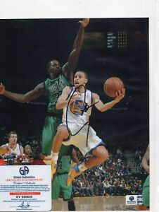 STEPH CURRY SIGNED 8X10 PHOTO GS WARRIORS COA autographed -835