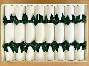 Christmas Cracker - Christmas Bon Bon, 8 x Handmade, Very High Quality, Embossed
