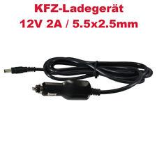 Zigarettenanzünder-Adapter Ladegerät Netzteil 12V 2A für Monitore Lampen LED