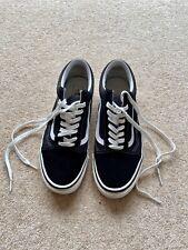 VANS Old Skool Skate Shoes - Black - UK 10