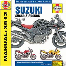 Manuales de motor SV Suzuki