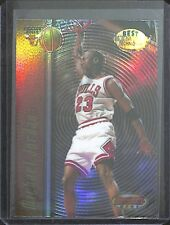 1998-99 Bowman Best Techniques Refractor #T2 Michael Jordan