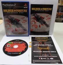 Console Game SONY Playstation 2 PS2 PAL ITALIANO SOLDIER OF FORTUNE EDIZIONE ORO