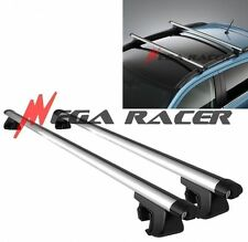 "JDM Adjustable 50"" in Aluminum Auto Utility ROOF RACK Carrier #r2 Key Lock Clamp"
